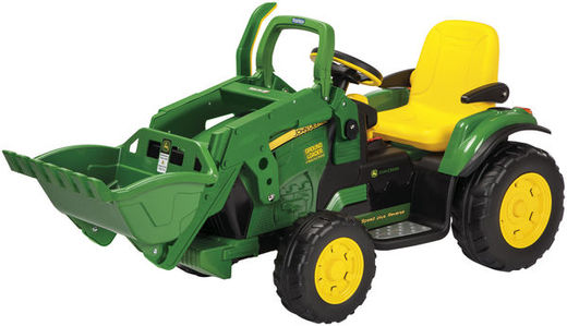 JD GROUND LOADER AKKUTRAKTORI KAUHALLA 12V/8AH