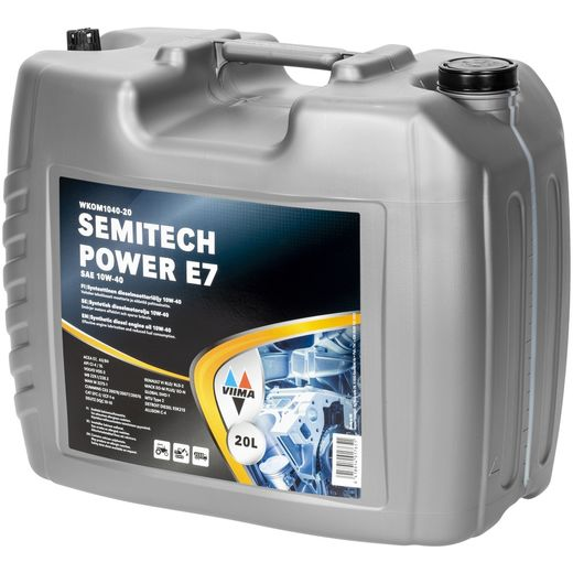 SEMITECH POWER E7 10W-40L 20L