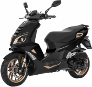 Peugeot Speedfight 4 Pure Black Skootteri 2020