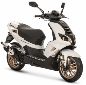 Peugeot Speedfight 4 Pure White Skootteri